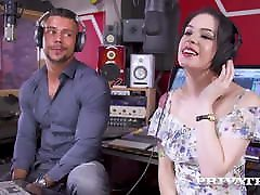 Private.com - Smoking Hot Anna De Ville Dp&039;d In Tatted Holes