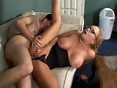 Mature Teacher gayanal sex Huge Boobs Fucked by Young Pupil