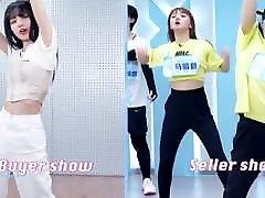 korejska plesna vaja za liso in učitelj.