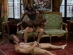 Hot Ebony Dominated by Two BWC Retro German