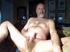 Older guy jerking 3