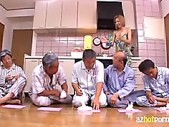Japanese Maid Fucked by Dirty bbw woman solo panty Men