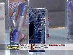 Blue Swirl Stiklo Dildo - Geriausias Sekso Žaislas Moterims, Pirkti Dabar, ir Patirties