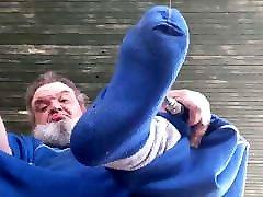 Big Blue Socks