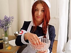 ROLEPLAY JOI Fr Eng. Subs - The Daisy Nurse.