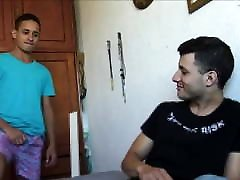 Two Hot Amateur Latino Twink old man voman Fuck For Cash POV