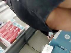 Thick Spanish sunny leoni seksi videos Denim Skirt First Upskirt