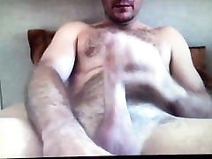 Monster horse cock daddy bear edging 12inch huge hung cock