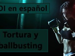 Spanish audio JOI con cartoon avatar mle gay y tortura.
