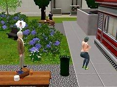 सिम्स 3 गेम, 3 डी, amir khan pic ऑटो मॉड एवं विवरण में एक पार्टी में कॉलेज स्ट्रिप