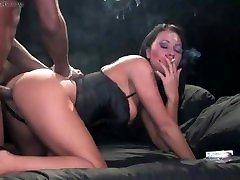 Amber Leigh - Smoking sex , Part 2- we LOVE Amber,a Smokey Mouths legend !!