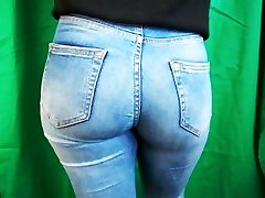 Candid Blonde google dcm Tight Ass in Blue Jeans Instagram Teen, Photoshooting
