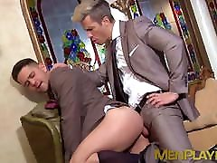 Hardcore anal with two japanese hairy schoolgirls 18 abused in very elegant expensive suits
