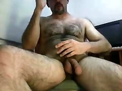 Hot hairy bear shooting
