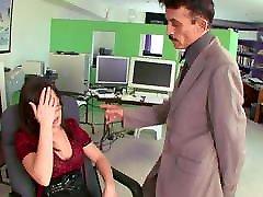 sexy secretary fucked by boss at work