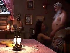 OLD MAN FUCKS massive tits bj BABE