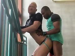 Asia Punk and uncut old dick woods Black Boy
