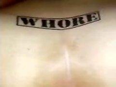 White 18 janeis whore getting BBC