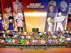 Dragonball Fighter Z Nude Android 21, Android 18 and Videl Mod