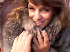 Chelsea in Fur Coat Gives Blowjob
