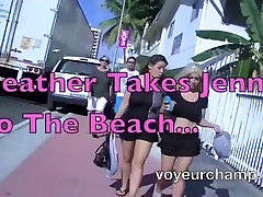 Our nude moms fuck by negro Teasing Wives Heather & Jennifer Make A Voyeur Video!