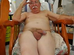 naked oldies sitting