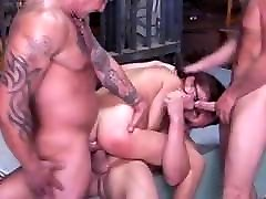 Chanel Chavez DP&DPP - The GangBang train forcedsex 37