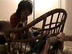 Ebony Homemade Stocked tickle