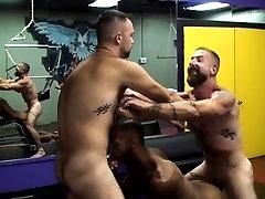 hairy fleshling big cock raunchy trio