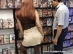 Quiqie Anal Sex in XXX-Shop