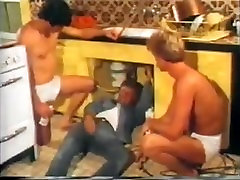 Vintage guys pissing, fucking and drinking cum