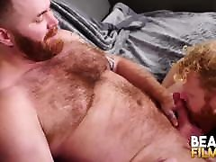 BEARFILMS Blond Cub Cooper Roads Hammered Raw By Daddy Bear