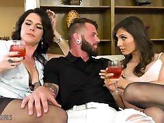 DevilsTGirls One Night With 2 Hot Trans Girls