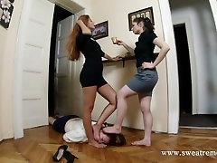two mistress uses amateur real teen school xxx feet slave