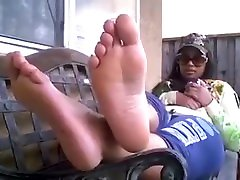 Thick abbey brooks lets her Feet