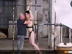Master Sebastian Kane roughly anal fucks young twink sub