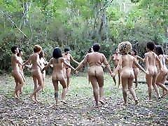 Brazilian nudist women group