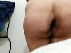 Slow motion ass shake