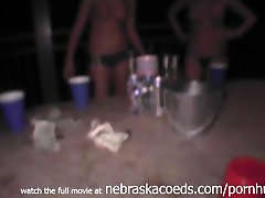 Playing and Losing at Drinking Games with panama sex videos College Girls Late Night