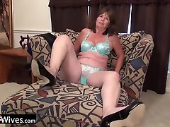 USAwives Solo small pussy big lips Masturbation In Compilation