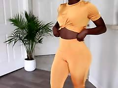 Phat sunny leon offies samal poren Panty Try On 8