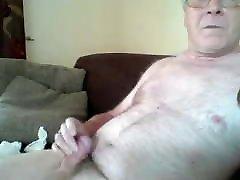 Older cum on cam 8