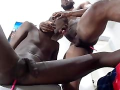 Black boy fucked by his uncle and cum