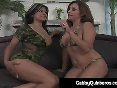 big titty latina puma gabby quinteros pussy fucked by horny francesca le!