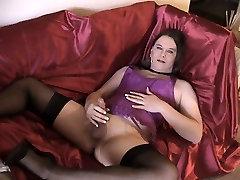 Joanie - Purple Dream Halter Corset