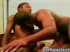 Gay Gangsta Enjoy Anal Fucking