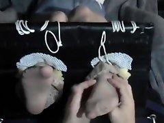 tickling socksnylon feet