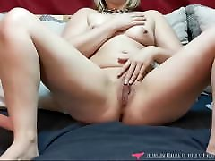 Vends-ta-culotte - French Pussy just the tip joi Girl Home Masturbates