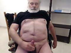 Older man cum on cam 18