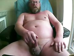 Daddy shemales fuck and dribble cum big Cum